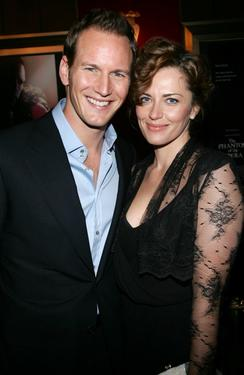 Patrick Wilson and Dagmara Dominczyk at the premiere of &quot;The Phantom of the Opera.&quot;